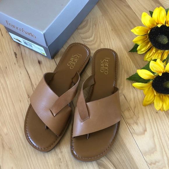 bdeade0ef7b3 Franco Sarto Shoes - Franco Sarto Gene Havana LE Slide Sandal